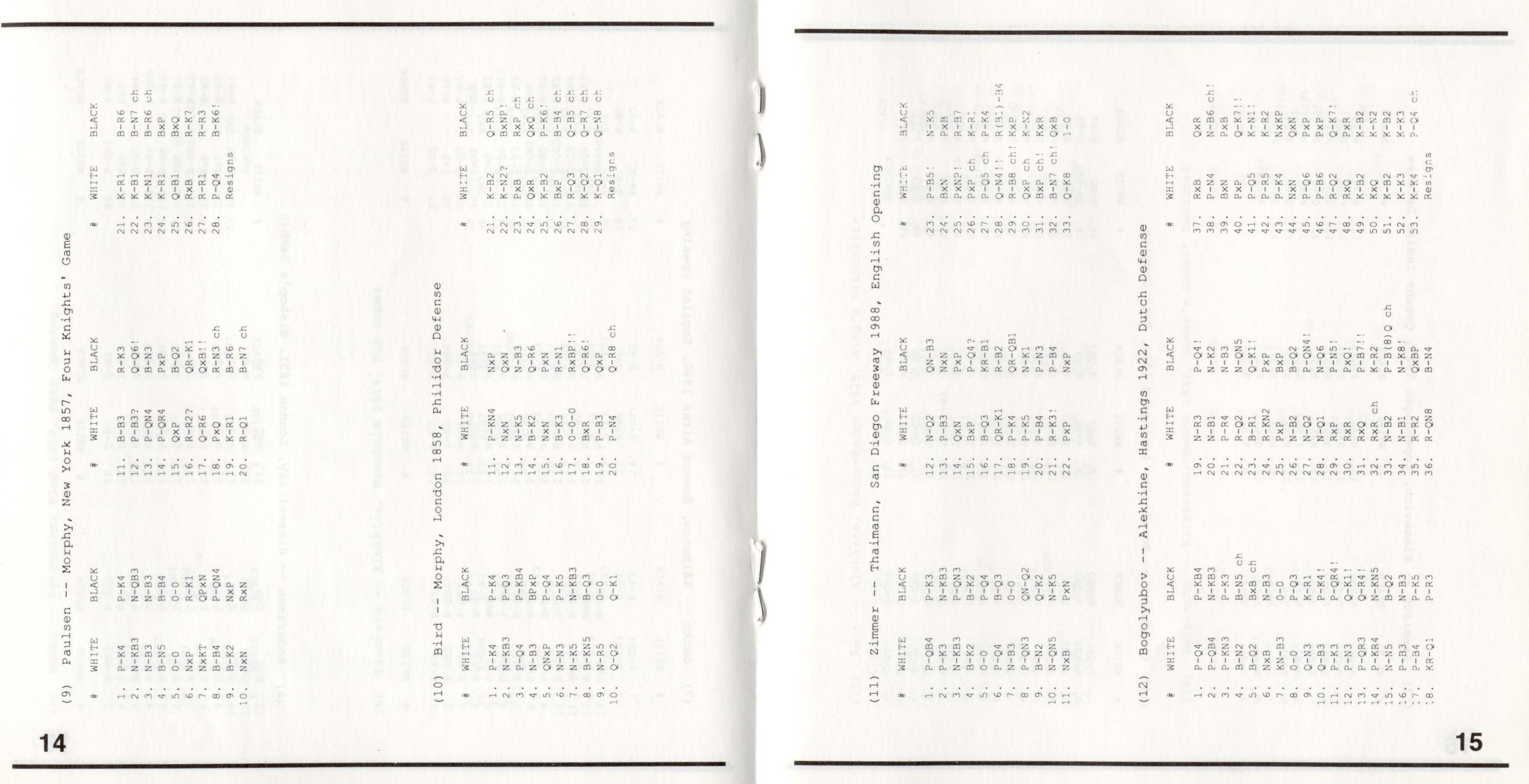 SFODB - The SixtyFour Originals DataBase